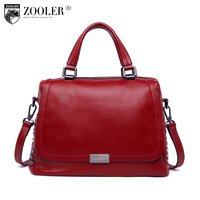 High quality lady bags 2018 luxury handbags women bags designer genuine leather bag ZOOLER tote bag bolsa feminina#B223