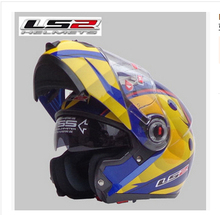 Free shipping dual lens LS2 FF370 motorcycle helmet visor exposing new cost-effective full-face helmet / Lei Ling