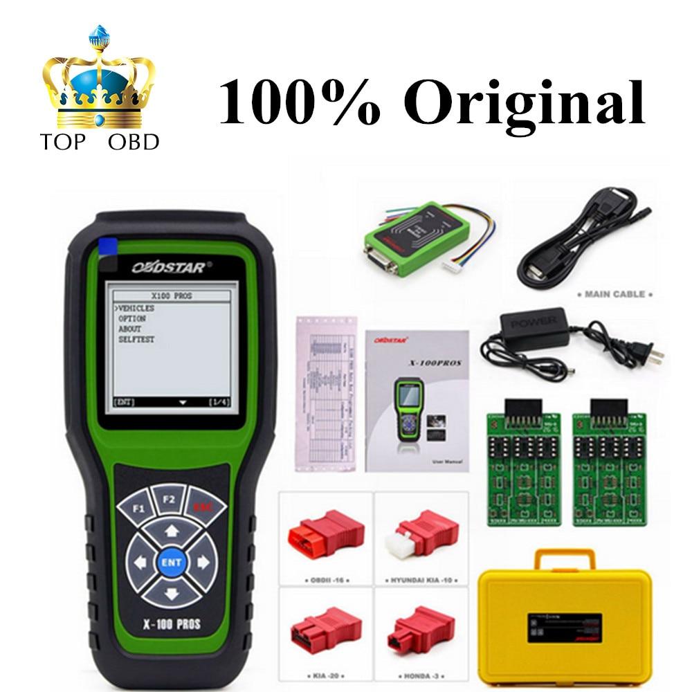 Original OBDStar X100 PROS C + D +EEPROM Model X-100 PROS Auto Key Programmer Odometer Correction Tool x100 pro Free Shipping