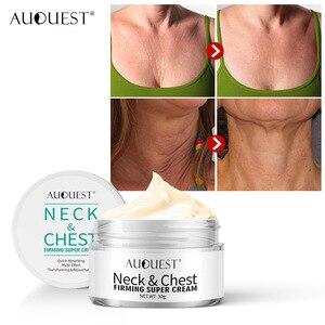 Укрепляющий крем для шеи и груди AuQuest, против морщин, гладкий, горизонтальный, коллагеновый лифтинг, крем для шеи, плотный уход за кожей, TSLM1