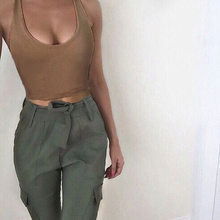 Halter top colheita feminina sem mangas tanque cami colete de fitness sólido o pescoço 2020 verão bralette topos cortes verano mujer qz *