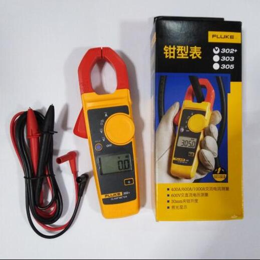 FLUKE 302+ F302+ Clamp Meter Clamp Multimeter