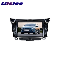 For Hyundai I30 2012~2017 LiisLee Car Multimedia TV DVD GPS Audio Hi Fi Radio Original Style Navigation Advanced NAVI