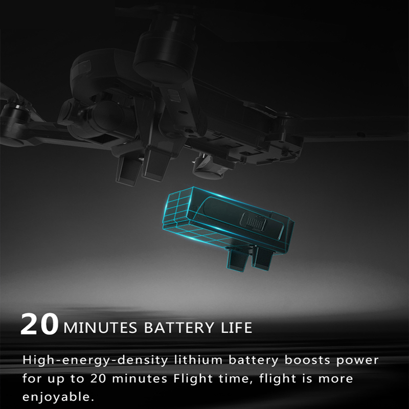 Image 5 - CG033 Selfie FPV Drone with HD Gimbal Camera WIFI Foldable Brushless Motor RC Quadcopter Helicopter GPS Dron VS S20 XS812 SG900-in RC Helicopters from Toys & Hobbies