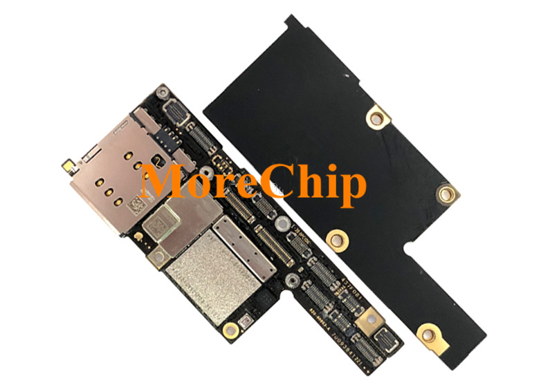 US $73 2 |For iPhone X ID Motherboard 64GB Original Used Mainboard For  Intel Version Logic Board Good Working After Change CPU Baseband-in Mobile