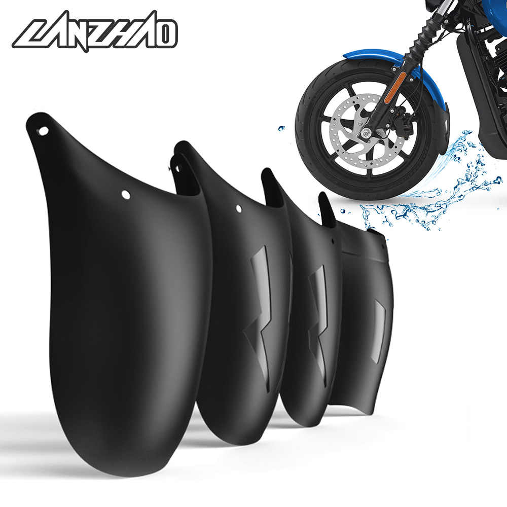 Motorcycle Extend Splash Guard Mudguard Extending Fender Protector Pad Cover for Harley Truimph Victory Vespa Cruiser Cafe Racer