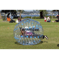 inflatable bumper ball,1.5m Clear bumper soccer ball,Inflatable full body suit,outdoor football game ball,human hamster balls