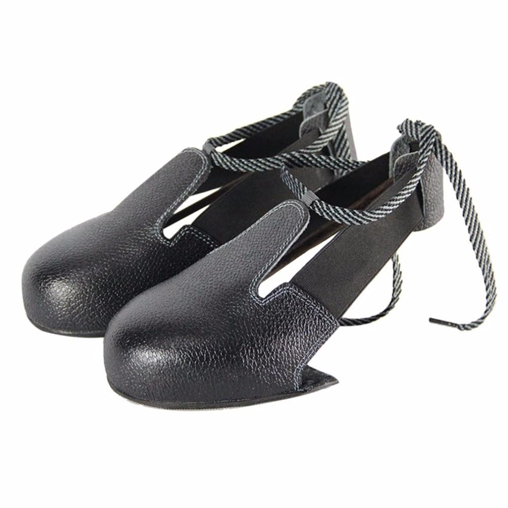 Arbeitsplatz Sicherheit Liefert UnermüDlich Neue 1 Paare/los Mann Frau Sicherheit Schuhe Echt Leder Stahl überschuhe Woker Schuhe Abdeckung Besucher überschuhe Zehen Schutz Sicherheit & Schutz