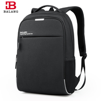 BALANG New High Quality Waterproof Business Luxury Backpack For Men Work Backpack Casual Travel Bags Male