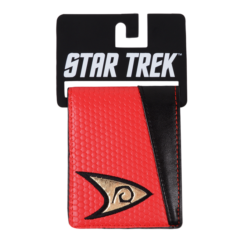 Star Trek wallet short style with label color blue and yellow and red wallet for young man's double folding wallet цена