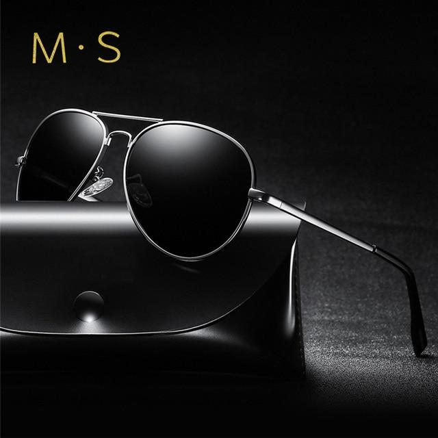 384e80950ec7f MS Fishing Polarized Sunglasses For Men 2018 New Pilot Eyewear Outdoor  Sports gafas de sol de