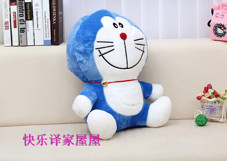 about 75cm Doraemon plush toy cartoon Doraemon doll throw pillow,Christmas gift w5735