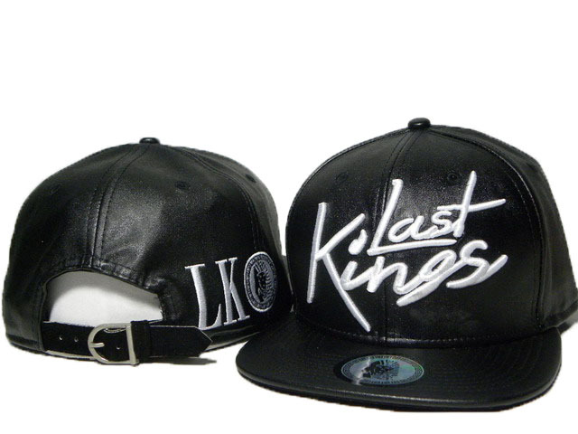 Best Quality Last kings full leather Snapback hats in black red white  classics men   women hiphop strapback caps freeshipping-in Baseball Caps  from Apparel ... 98d558bf6e64