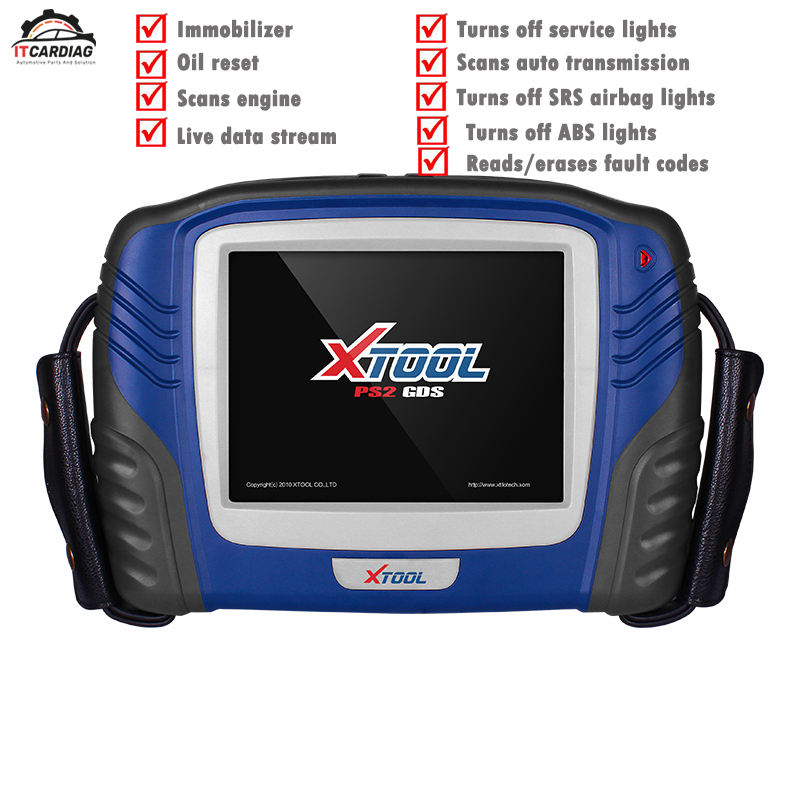 New Released XTOOL PS2 GDS Gasoline Bluetooth Diagnostic Tool with Touch Screen Update Online Car key Programmer Immobilizer