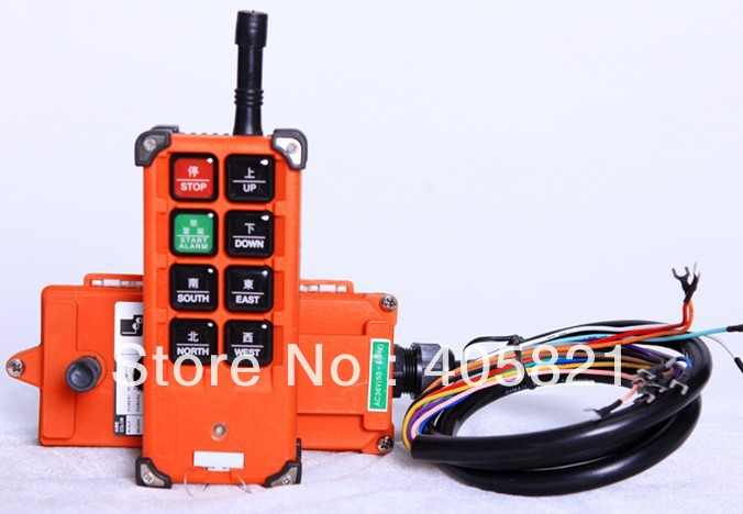 F21-E1B industrial remote controller Hoist remote control lift crane switch 1transmitter+1receiver AC/DC18-65V,AC/DC 65-440VF21-E1B industrial remote controller Hoist remote control lift crane switch 1transmitter+1receiver AC/DC18-65V,AC/DC 65-440V