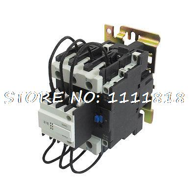 CJ19-63 Ui 500V 36V Coil 63A Pole 1NO Changeover Capacitor AC Contactor 660v ui 10a ith 8 terminals rotary cam universal changeover combination switch