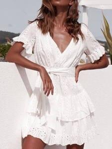 WYHHCJ 2019 Summer Women Casual Beach Sundress Sexy