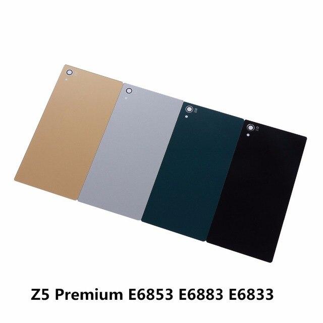 Us 359 Battery Rear Door Cover For Sony Xperia Z5 Premium E6853 E6883 E6833 55 Inch Housing Glass Battery Back Covernfc Sticker Glue In Mobile