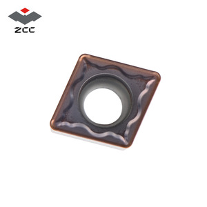 Image 4 - 10pcs/lot ZCC.CT promotional turning carbide inserts CCMT CCMT060204 CCMT09T304 CCMT120408 CNC turning tool for steel cast iron