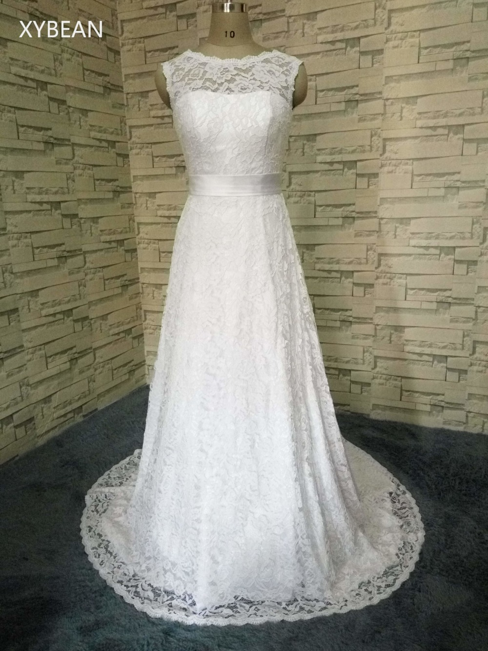 Cheap price 2017 new free shipping cap sleeve lace for Cheap lace wedding dresses with sleeves