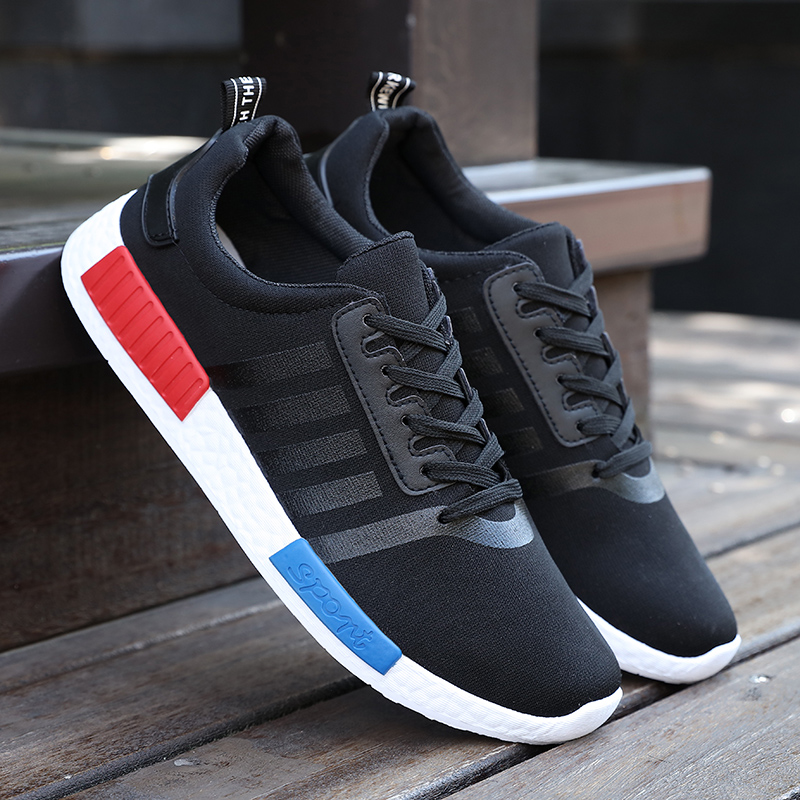 ФОТО 2016 Hot Comfortable Breathable Men Casual Super Light Men Shoes Quality men Shoes Casual Shoes mesh size 39-44 four seasons