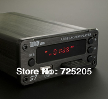 Free Shipping APE FLAC WAV CUE Lossless Digital Amplifier Stereo 2x40w TDA7498L 24Bit96Khz SD USB DAC AMP