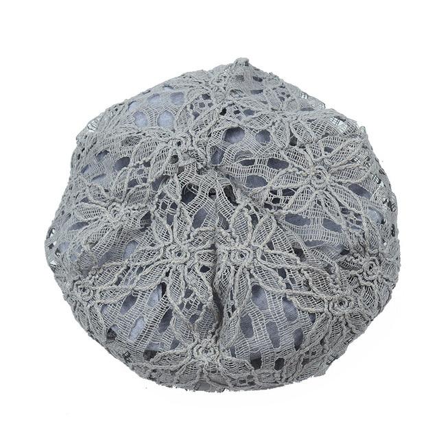 Turban Hats For Women Fashion Flower Female Stylish Butterfly Beanies Hat 5