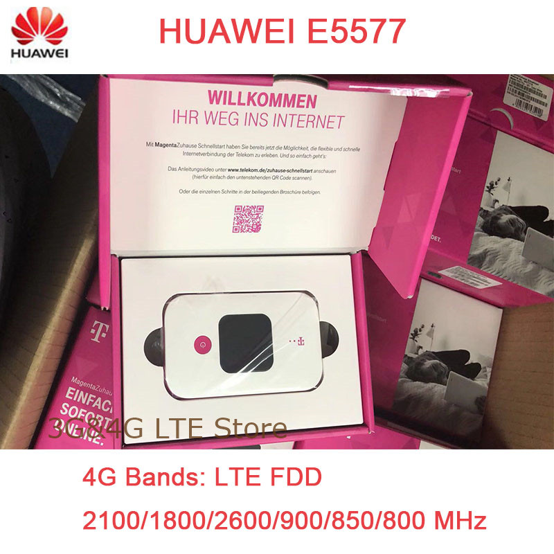 цены Unlocked New HUAWEI E5577 4G LTE Cat4 E5577Cs-321 1500mah Mobile Hotspot Wireless WIFI Router Pocket