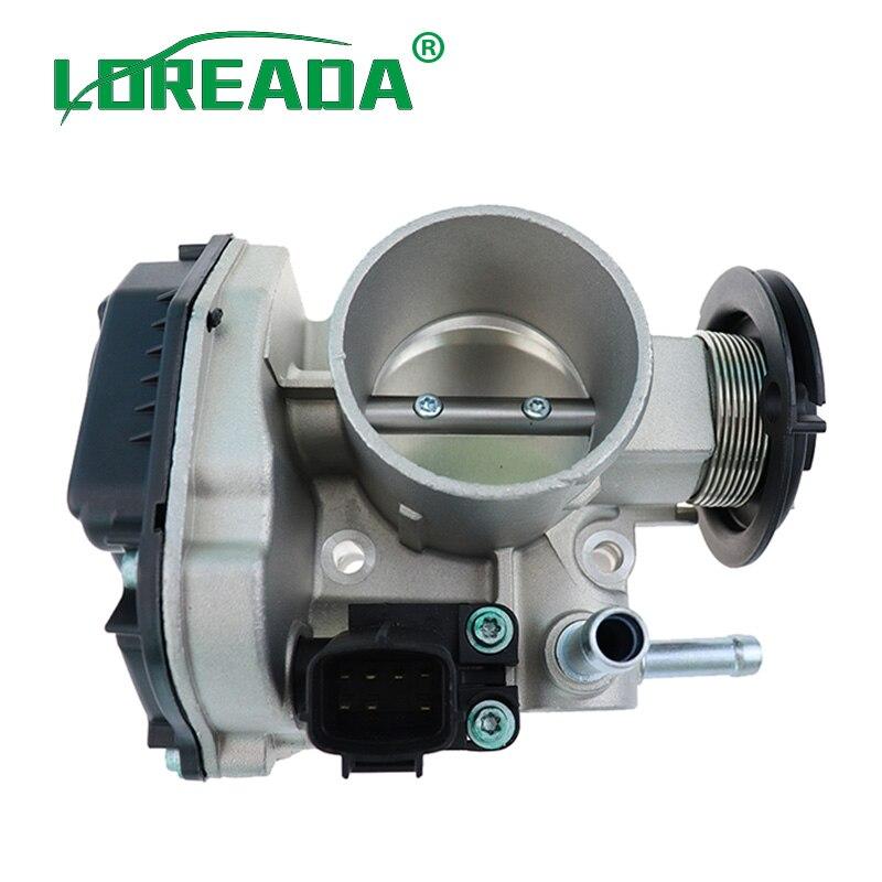 LOREADA تجميع جسم الخانق 96394330 96815480 نظام شفط هواء الهواء لشروليه لاكيتي أوبترا J200 دايو نوبيرا 1.4i 1.6i