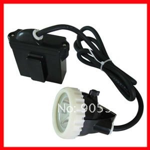 5W LED Mining Lamp, koplamp, Mining Light Charger Through Battery, - Draagbare verlichting