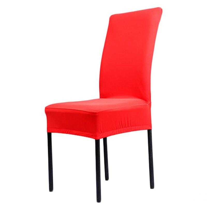 Red Stretch Dining Chair Covers Sure Fit Harlow