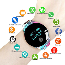 Fashion New Color Touch Screen Smartwatch Monitor Smart Watch Sport Fitness Men Women Kids Wearable Devices For IOS Android pkQ9 weide smart phone watch digital step counter stopwatch monitor bluetooth wearable electronic devices sport ios android relogio