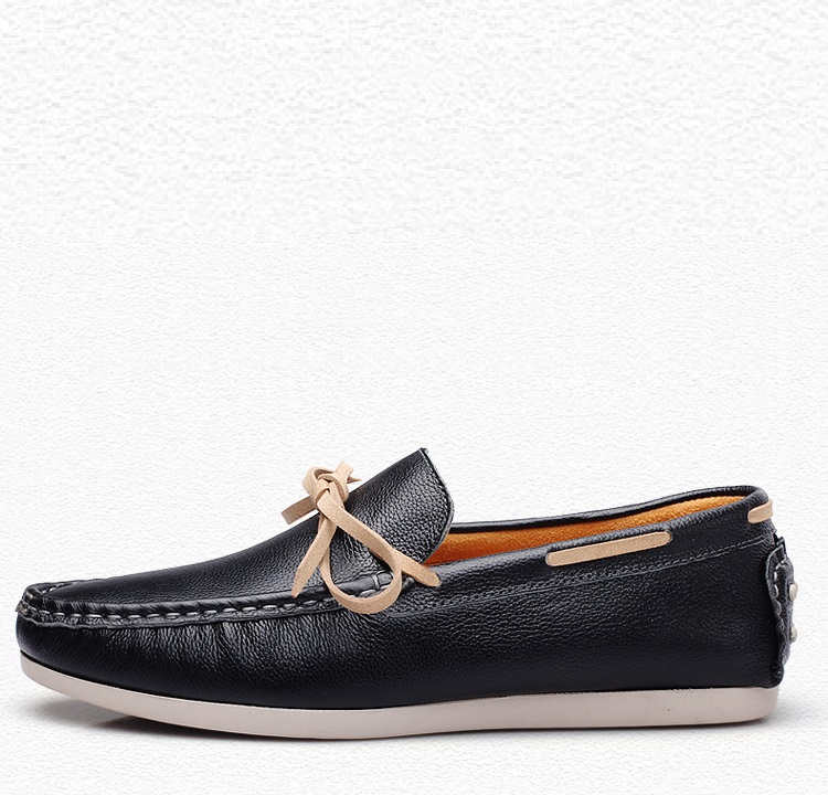 2017 New Luxury Leather Boat Shoes Mens Top Sider Driving Shoes Luxury Brand British