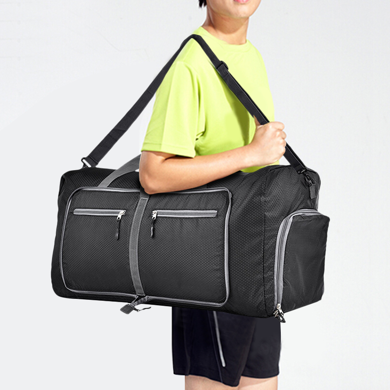 Водонепроницаемый Fitning сумки 80L складной Packable Duffle Bag Большая Дорожная Чемодан покупок тренажерный зал