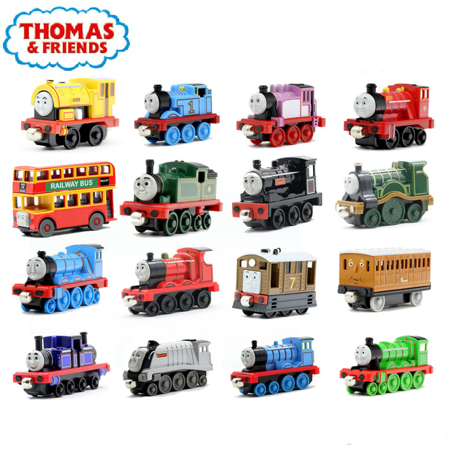 New One Piece Diecast Metal Thomas and Friends Train Megnetic Train Toy The Tank Engine Trackmaster Toys For Children Kids Gifts