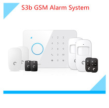 50 wireless Zone Etiger S3b wireless GSM Alarm system for home Security Protection Alarm system