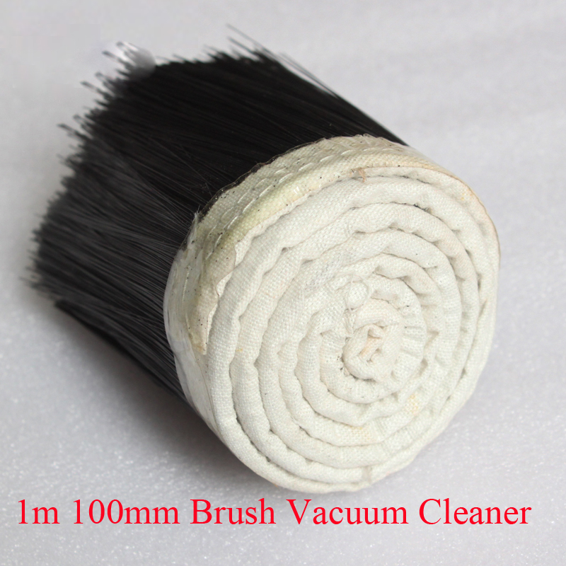 1M X 100mm Brush Vacuum Cleaner Engraving Machine Dust Cover For CNC Router For Spindle Motor Engraving Machine Parts