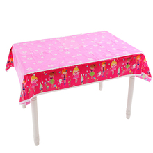 Omilut Princess Birthday Party Disposable Tablecloth Baby Shower Girl 1th Decor Pink Supplie