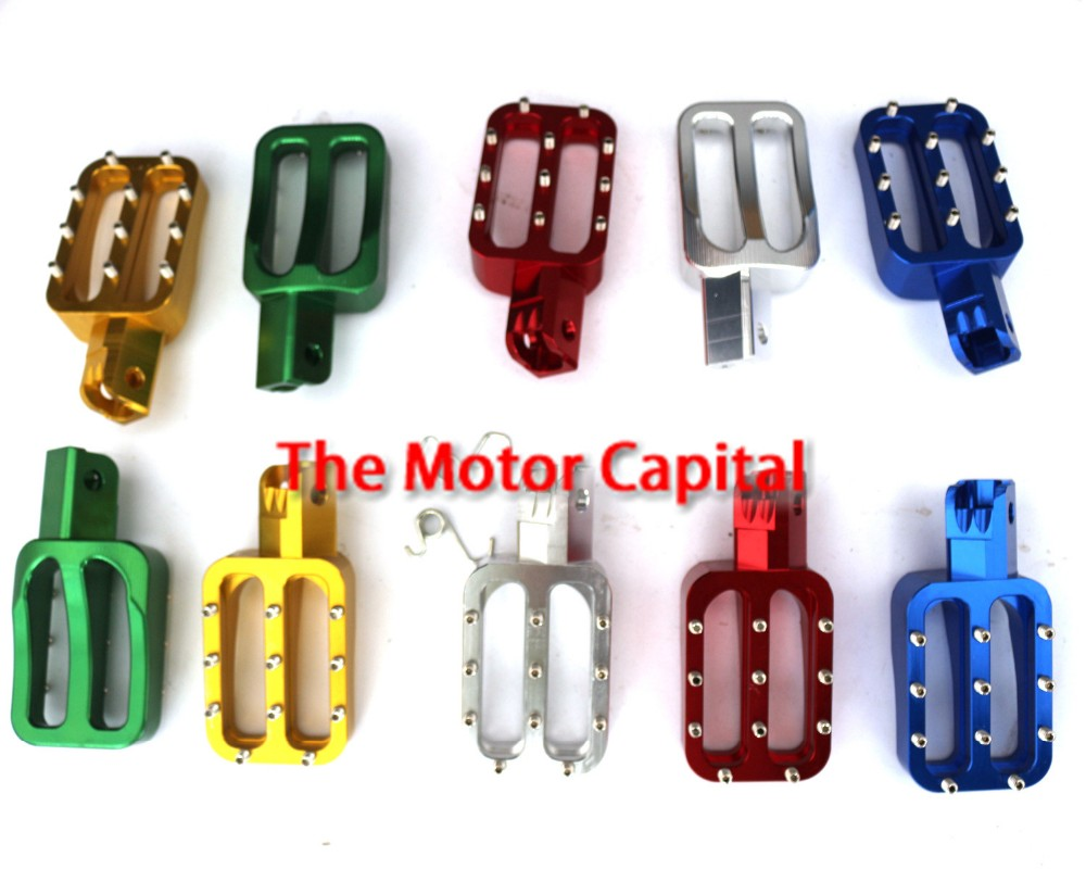 Monkey Bike Small Boy Monkey Motorcycle Accessories Modified Aluminum Pedals With Foot Rests