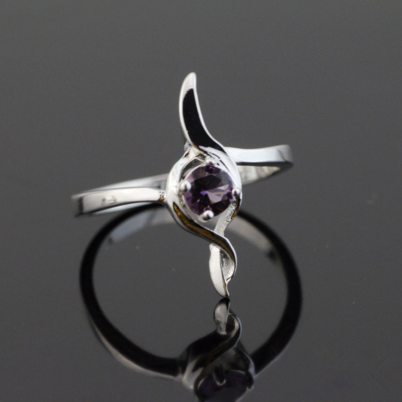 925 Sterling Silver Vintage Allure Rings For Women 2017 Autumn Original European Style Ring Jewelry With Clear Zirconia Jz058