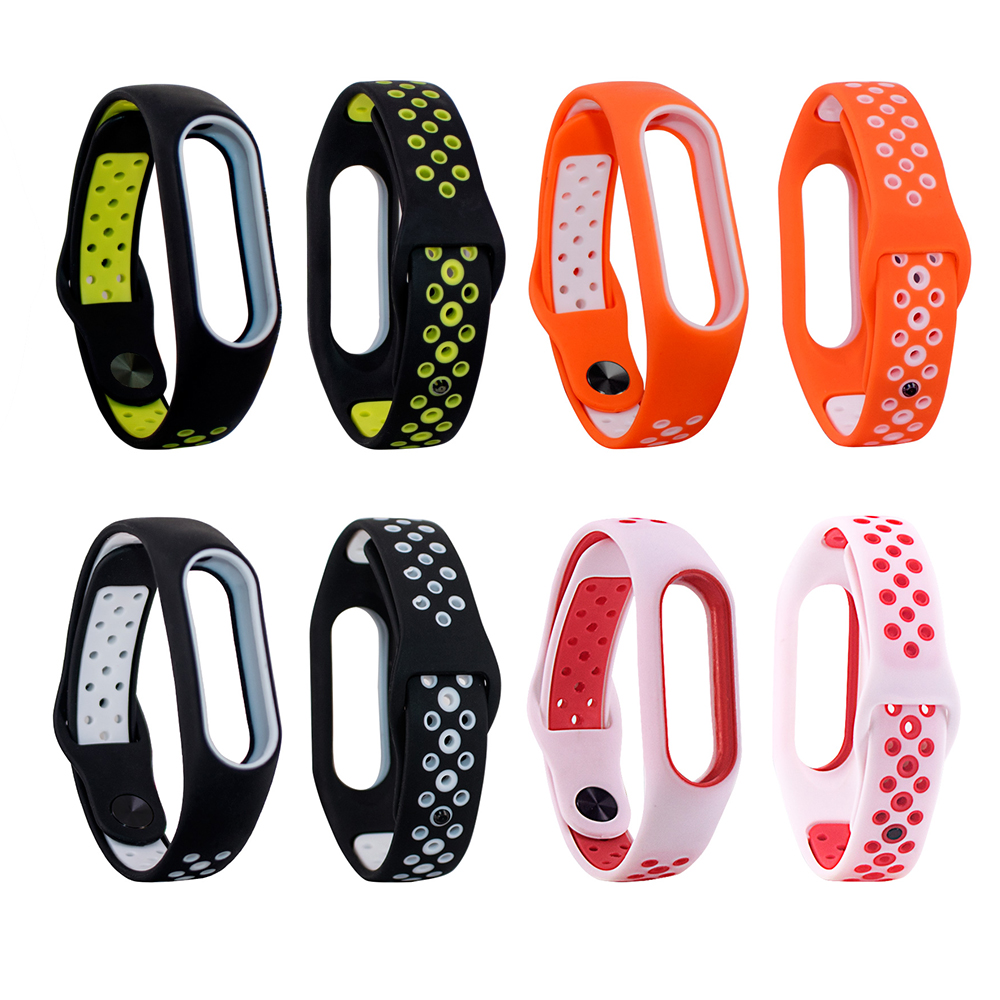 For Miband 2 Strap For Xiaomi Mi Band 2 Bracelet For Mi Band2 Accessories Smart Correa Wrist Strap With Top Quality Silicone