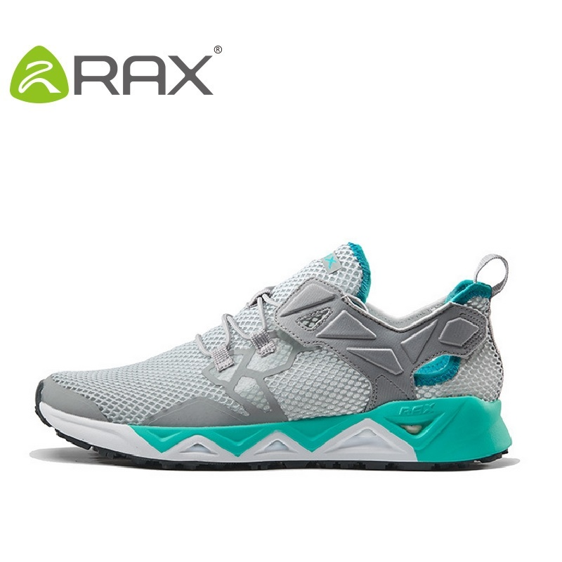 все цены на Rax Running Shoes For Men 2017 New Summer Outdoor Trainers Zapatillas Mujer Breathable Outdoor Shoes Size Eu 36-44 B2806W онлайн