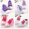 Newest Baby Shoes Unisex Kids Boy Moccasins Classic Sports Sneakers Bebe Soft Infant Toddler Bottom Lace-up T-tied Newborn Shoes