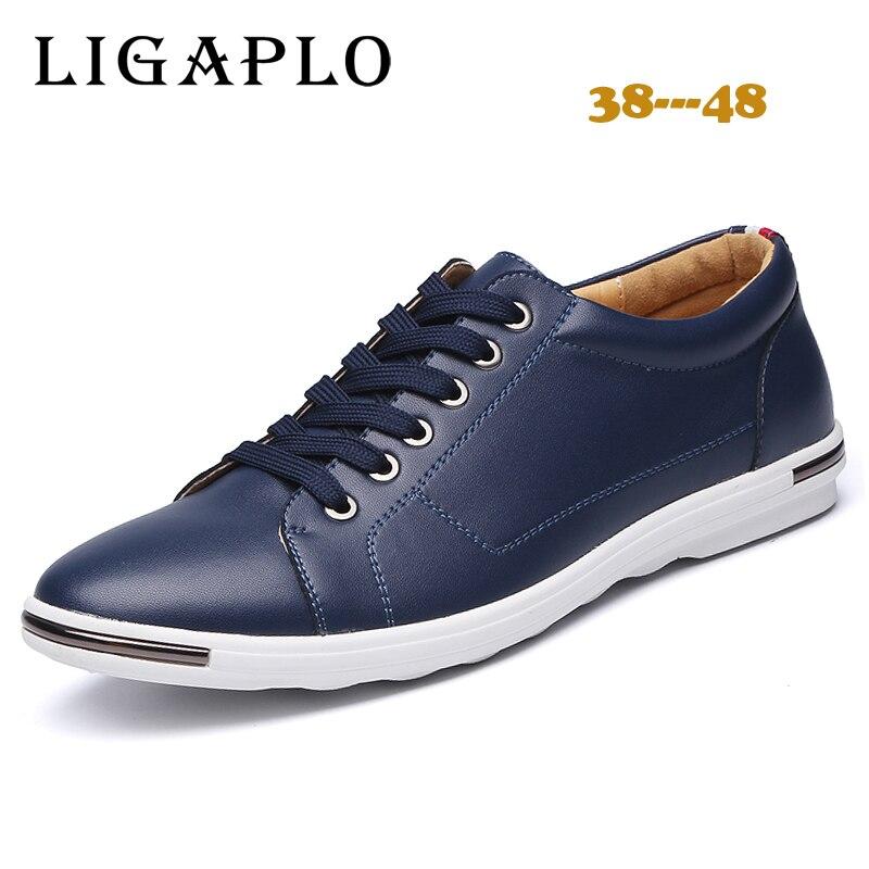 Zapatos Casuales para hombre primavera otoño Grande tamaño 48 mens trainers Piso