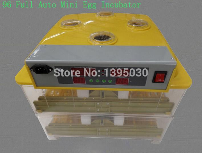 1Pc/Lot Newest 96 eggs mini egg incubator WQ 96 Digital egg automatic incubator machine 110/220V