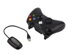 Vente chaude 5 Couleur 2.4G Sans Fil Gamepad Joypad Jeu À Distance Contrôleur Joystick Avec Pc Récepteur Pour Microsoft Pour Xbox 360 Console