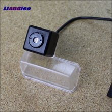 Liandlee Anti Collision Laser Fog Lamps For Toyota Vios / Etios 2014 2015 Car Rear Distance Warning Alert Line Safe Drive Lights