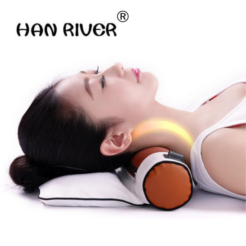 Cervical pillows To repair the cervical vertebra by heating traction spine Adult protection of neck preventive health tools healthcare gynecological multifunction treat for cervical erosion private health women laser device