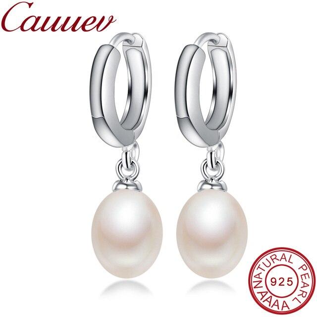 7d30e799e Genuine Natural freshPearl Dangle Earrings Pearl Jewelry with 925 Sterling  Silver earrings earrings for women Drop Earrings gift
