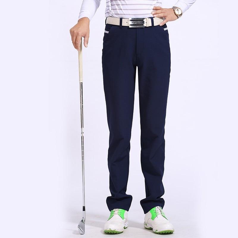 Hot sale golf pants Men brand cotton golf sports white long trousers black fitness quick dry full length pants sportwear